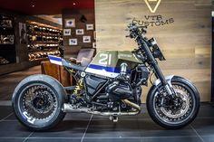 "BMW ""Eddie21"" VTR Customs - RocketGarage - Cafe Racer Magazine"