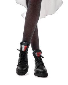 Rubber Rain Boots, Tommy Hilfiger, Fall Winter, Woman, Hot, Black, Fashion, Moda, Black People