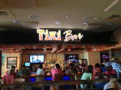 Margaritaville Atlantic City Boardwalk Tiki bar