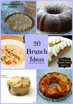 20 Brunch Ideas