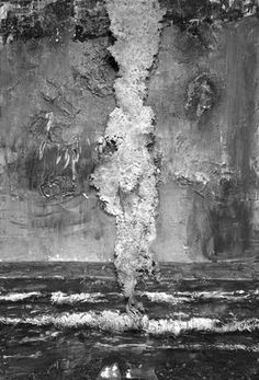 anselm kiefer. Not sure what this is called but I remember this being a piece i used as inspiration for my own art work at college. Love it #art #contemporary #texture