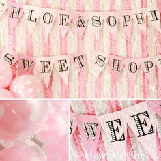 sweet shoppe theme