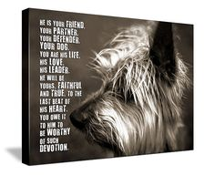 Can this be a custom canvas print? I want that quote & a pic of Rye!