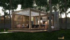 Архитектура загородного дома - Оasis, студия Design Evolution