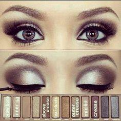 Naked palette #everydaylook