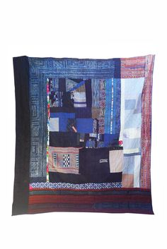 Pauline Boyd, HECHO QUILT, Counterpane, 42 in x 42 in. Made from ... : pauline boyd quilts - Adamdwight.com