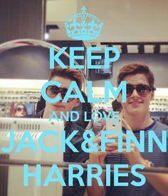 Jack and Finn Harries