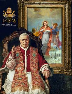 Santa Filomena, also loved by Pope St. Pius X Catholic Saints, Roman Catholic, Pope Pius X, Saint Philomena, Catholic Pictures, Juan Pablo Ii, Sacred Art, Kirchen, Blessed Mother