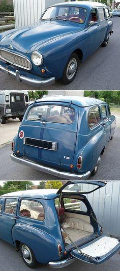 Renault Domaine (Frégate break) 1956-60