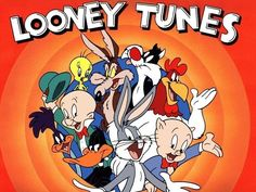 Looney Tunes dvd of the classics. I think we have one, I'll let you know. With Mel Blanc