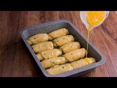 Zalijte housky jedním vejcem a budete mile překvapeni!  Chutný TV - YouTube Pan Relleno, Bon App, Cake Cookies, Entrees, The Creator, Appetizers, Potatoes, Pizza, Vegetables