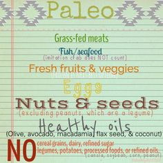 The Paleo aka Caveman diet. If a caveman couldn't eat it, it's not considered paleo. Ahhhh...