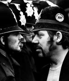 miners strike 1984 pictures - Google Search