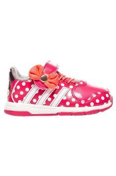 Pantofi copii Disney Minnie&Mickey Adidas Performance cu buline