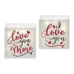Love You Light Box from C&F Home.