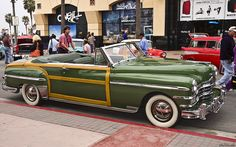 1949 Chrysler Town & Country convertible - fvr