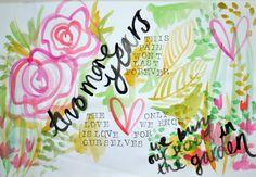 @Lauren Blood | Bloc Party Inspired | Season of Adventure | Get Messy Art Journal