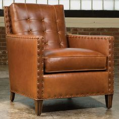 Stickley Leather Sundance Chair