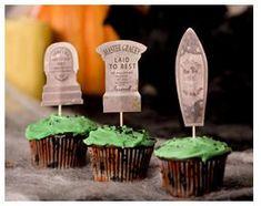 Free Disneys Haunted Mansion Cupcake Printables