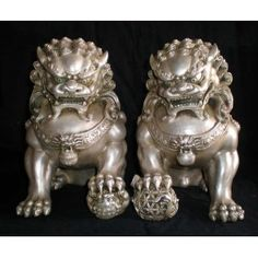 Chinese Guardian Lions - Foo Fu Dogs