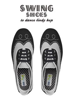 awesome lindy hop Keds! (see similar styles on Zazzle)
