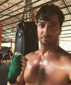 I realize it looks like I'm taking myself way too seriously in this photo. but I'm allowed one of these, right? Daniel Lissing, Erin Krakow, Hallmark Channel, Muay Thai, My Way, Take My, Actors, Fictional Characters, Instagram