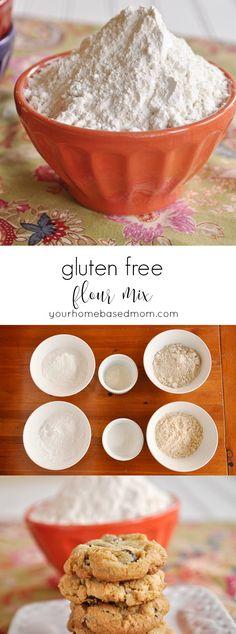 GLuten Free Flour Mix - the best gluten free flour ever!