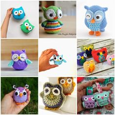 Love the top owl.  Might try it