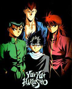 Yu Yu Hakusho one of my favorite shonen anime Anime Love, Me Me Me Anime, Awesome Anime, Comics Anime, Bd Comics, Manga Anime, Top Manga, Yu Yu Hakusho Anime, Yoshihiro Togashi
