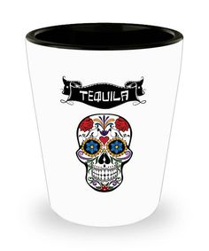 Tequila Shot glass. Tequila shots. Birthday gift for men women