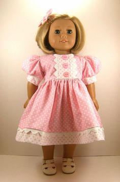 American Girl Doll 18 Inch Dolls Short Sleeved by dressurdolly2, $22.00