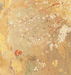 Yellow Tree (Arbre sur un fond jaune) detail, 1901 Musée d'Orsay