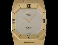 Rolex Cellini Gents 18k Yellow Gold Silver Dial B&P 4350 Rolex Cellini, Used Rolex, Swing Tags, Vintage Rolex, Patek Philippe, Audemars Piguet, Roman Numerals, Gold Watch, Rolex Watches