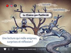 La chasse aux fantômes iPad Android, In Distress, Ipad, Riddles, The Help, Thoughts, Interactive Books, Reading, Sound Design
