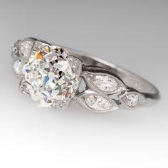 1930's antique engagement ring