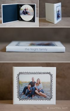 custom dvd + case - These are ADORABLE and would be perfect for my photography business!  <3