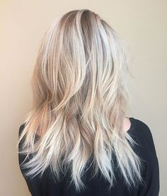 Messy, lived in, beachy texture  color is flashlift by redken with varying developer levels and base is 5n shades eq and 7n shades eq alternating sections and final toner is shades eq 2 parts 9v 1 part 9b