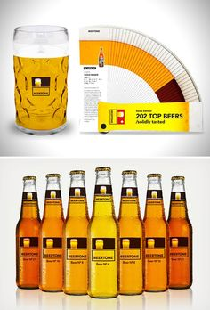 Beertone: Definitely a great gift for the beer-lovers in your life. Smart Packaging, Brand Packaging, Packaging Design, Uncles Day, N21, Beer Lovers, Litter Box, Pantone Color, Visual Identity
