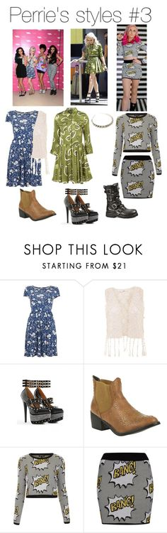 """""""Perrie's styles #3"""" by nicoleornelas ❤ liked on Polyvore featuring Truffle and Topshop"""