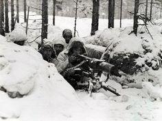 Talvisota. Suomen armeijakuvaa. Kuvauspaikka ja tarkka ajankohta ei tiedossa.