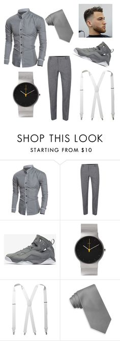 """Sunday morning"" by enriquethompson ❤ liked on Polyvore featuring Topman, NIKE, Braun, Stacy Adams, Tommy Hilfiger, men's fashion and menswear"