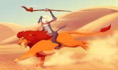 The King has Returned! Rafiki and Simba