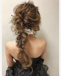 編みおろしが可愛いヘアアレンジ画像 | marry[マリー]