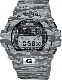 Casio Mens G-Shock 6900 Trending Series - Urban Camouflage - Gray