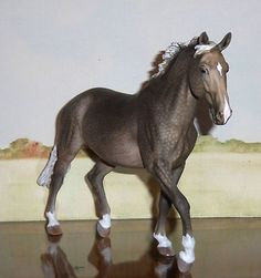 Custom/CM Breyer Horse, Traditional Dappled Warmblood Mare x B. Morgan