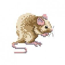 FREE - Rat 1 Cross Stitch Pattern