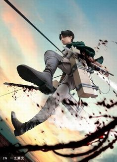 Levi (Attack on Titan) #cosplay | http://www.crunchyroll.com/attack-on-titan