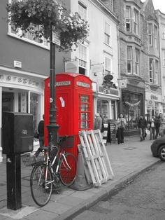 Telephone in Oxford.