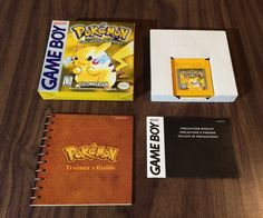 Pokemon Yellow Version - Special Pikachu Edition (Nintendo Game Boy) Complete: $99.95 End Date: Saturday Mar-24-2018 13:07:41 PDT Buy It…
