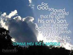 Ilie A Negru - DOMNUL MEU ISUS E PASTORUL - YouTube Youtube, It Works, The Creator, Believe, God, Pastor, Dios, Allah, Youtubers